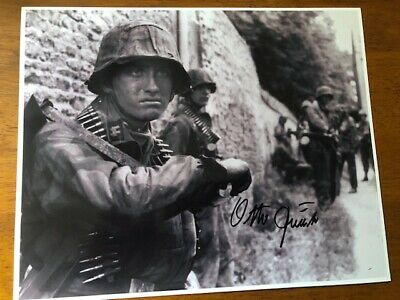 Signed photo Otto Funk-12th SS Panzer Division Normandy