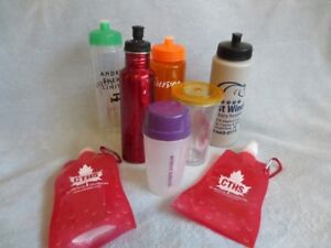 Various Water Bottles for sale