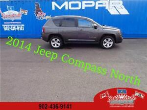 2014 Jeep Compass North 4X4 with Back up Camera