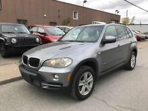 2007 BMW X5 3,0si 7 PASSAGERS FULL AC MAGS CUIR TOIT NAVIGATION