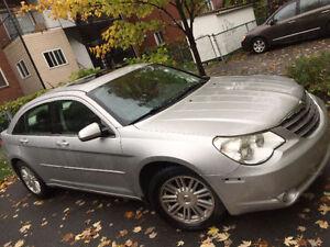 Fully equipped 2008 Chrysler Sebring sedan leather sunroof