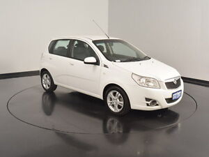 2011 Holden Barina TK MY11 White 5 Speed Manual Hatchback Victoria Park Victoria Park Area Preview