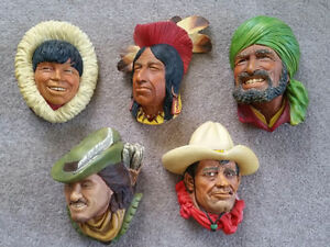 Bossons Congleton England Heads