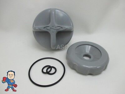 Dimension One D1 D-1 Diverter Knob Cap & O-Ring Kit Gray Spa Hot Tub Part for sale  Hendersonville