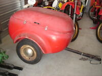 Bubble enclosed trailer for Hot Rods or Classics