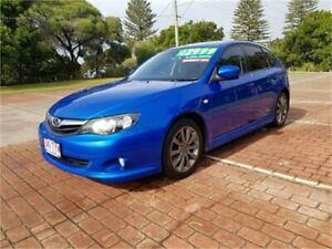 2009 Subaru Impreza MY10 RS (AWD) Blue 4 Speed Automatic Hatchback Cleveland Redland Area Preview