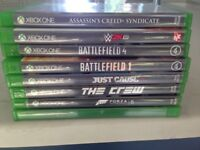 Various XBox One Games - for fans of Assassin's Creed & Call of Duty