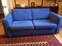 Free Blue Sofa Bed