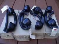 GPO /BT 700 BLACK TELEPHONE HANDSETS x 4 FOR SALE , NEW OLD STOCK STILL BOXED