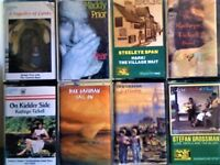 MADDY PRIOR KATHRYN TICKELL, STEELEYE SPAN, DICK GAUGHAN, STEFAN GROSSMAN PRERECORDED CASSETTE TAPES