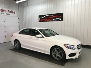 2015 Mercedes-Benz C-Class C300 4MATIC AMG/BLIND SPOT/LEATHER