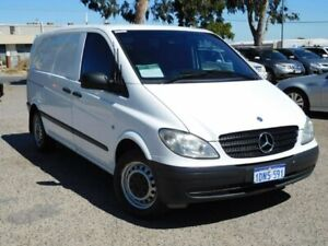 2010 Mercedes-Benz Vito 639 MY10 111CDI Low Roof Comp White 5 Speed Automatic Van