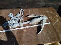 Galvanised Folding Anchor