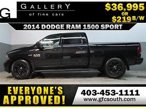 2014 DODGE RAM SPORT CREW *EVERYONE APPROVED* $0 DOWN $219/BW!