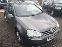 2008 VOLKSWAGEN GOLF 1.9 Match TDI DIESEL 12 MONTHS WARRANTY AVAILABLE