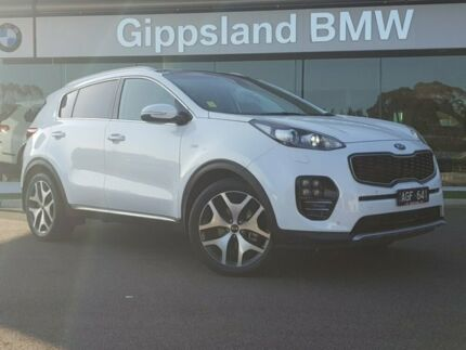 2016 Kia Sportage QL MY17 GT-Line White 6 Speed Semi Auto SUV Traralgon Latrobe Valley Preview
