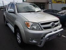 2007 Toyota Hilux GGN25R MY07 SR5 Silver 5 Speed Automatic Utility Westcourt Cairns City Preview