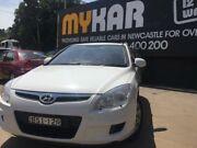 2010 Hyundai i30 FD MY10 SX 1.6 CRDi White 5 Speed Manual Hatchback Islington Newcastle Area Preview