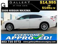 2009 Nissan Maxima 3.5 SV $149 bi-weekly APPLY NOW DRIVE NOW