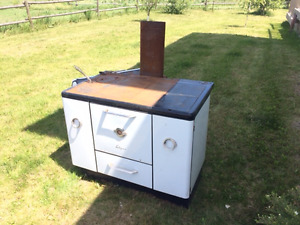 Antique wood stove - Enterprise