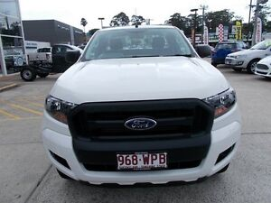 2016 Ford Ranger PX MkII XL Super Cab 4x2 Hi-Rider White 6 Speed Sports Automatic Cab Chassis Buderim Maroochydore Area Preview