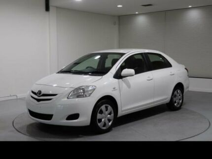 2008 Toyota Yaris NCP93R YRS White 4 Speed Automatic Sedan Invermay Launceston Area Preview