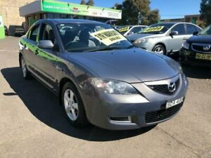2007 Mazda 3 BK10F2 Neo Grey Sports Automatic Sedan Lidcombe Auburn Area Preview