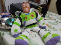 Buzz lightyear original vintage backpack vinyl head
