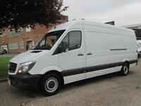 2014 64-REG MERCEDES SPRINTER 313CDI LWB HIGH ROOF. 1 OWNER. LOW 47,000 MILES.