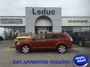 2012 Dodge Journey R/T with Leather and Heated Seats
