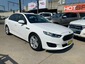 2015 Ford Falcon FG X White 6 Speed Sports Automatic Sedan Granville Parramatta Area Preview