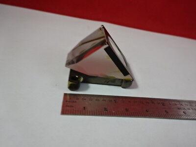 Olympus Japan Head Prism Microscope Part Optics As Is 91-05