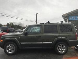 JEEP COMMANDER 7 PASSAGER LIMITED FINANCEMENT 100%