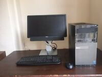 Dell Optiplex 3020 PLUS dedicated Dell SCREEN Intel G3240 3.1GHz 4 GB RAM, 500 GB HDD