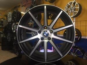 MAGS ROUES BMW 5X120 NEUFS 20'' STAGGERED 1 150$ ***LIQUIDATION FIN DE SAISON / END OF SEASON SALE***