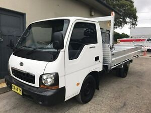2003 Kia K2700 TU TU Cab Chassis Single Cab 2dr Man 5sp 1500kg 2.7D White 5 Speed Manual Cab Chassis Croydon Burwood Area Preview