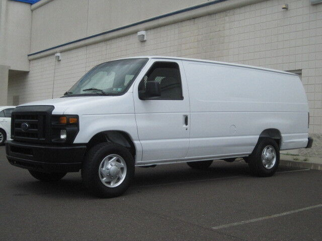 2008 ford e250 extended long cargo van one owner runs great ready for work clean used ford e. Black Bedroom Furniture Sets. Home Design Ideas