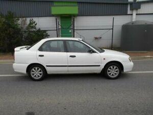 1999 Suzuki Baleno SY416 GLX White 4 Speed Automatic Sedan Beverley Charles Sturt Area Preview