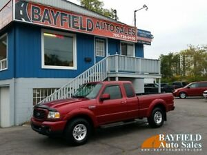 2008 Ford Ranger Sport Supercab **5 Speed Manual**
