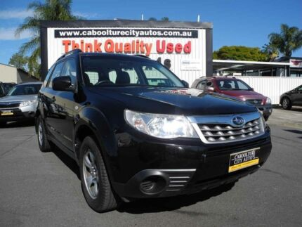 2011 Subaru Forester S3 MY11 XS AWD Black 4 Speed Auto Seq Sportshift Wagon Caboolture South Caboolture Area Preview