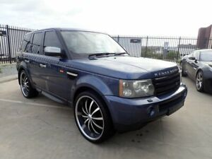 2006 Land Rover Range Rover Sport L320 06MY TDV6 Blue Marlin 6 Speed Sports Automatic Wagon Wangara Wanneroo Area Preview