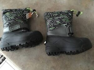 (416A) Boy's Winter Boots COLUMBIA - Size 9