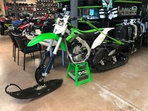 2016 KAWASAKI KX 450F WITH TIMBERSLED