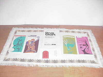 Lot of 6 Vintage 1970's Anti Drug Pamphlets Propaganda