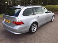 2004 04 BMW 5 SERIES 2.5 525D SE TOURING 5D AUTO 175 BHP DIESEL