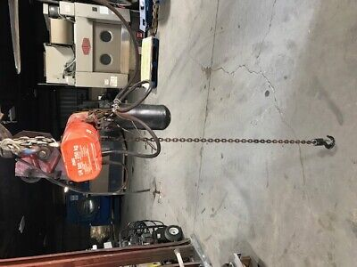 Cm Corp 14 Ton Electric Chain Hoist Model Wb