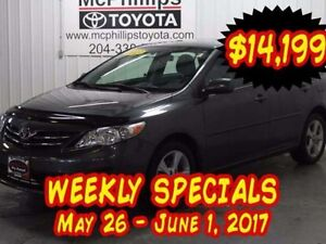 2013 Toyota Corolla 4DR SDN AT LE