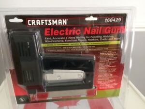 Electric Nail Gun (Brad Nailer) - Craftsman
