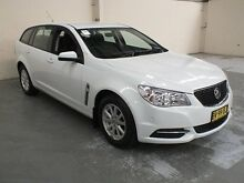 2013 Holden Commodore VF Evoke White 6 Speed Automatic Sportswagon Gateshead Lake Macquarie Area Preview