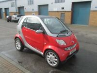 mercedes smart car 2003 (privert plate) 600cc semi auto £1395 very good condition/runner px/welcome